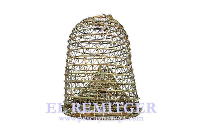 LARGE JUNCUS LOBSTER POT