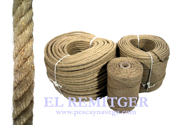 HEMP ROPE 3 MM (REEL)