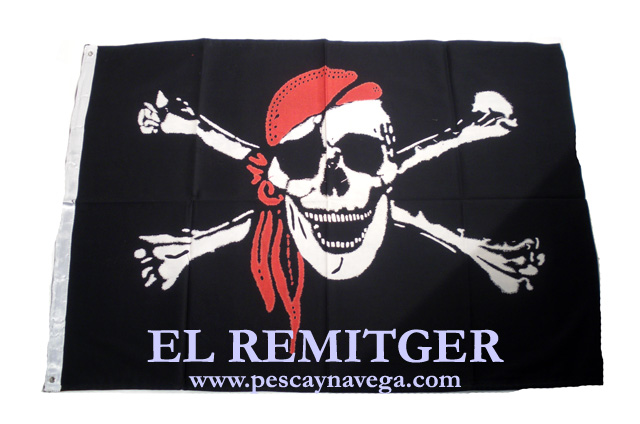 PIRATE FLAG (RED SCARF)