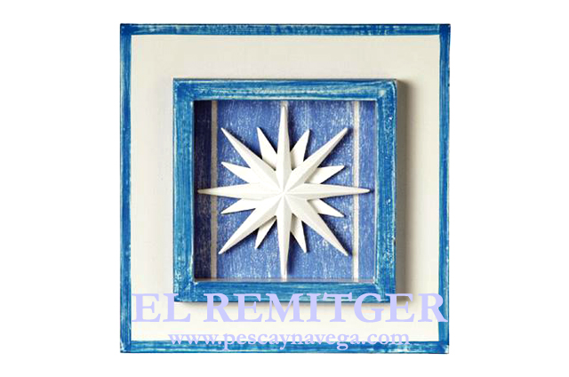 BLUE DECORATION PICTURE