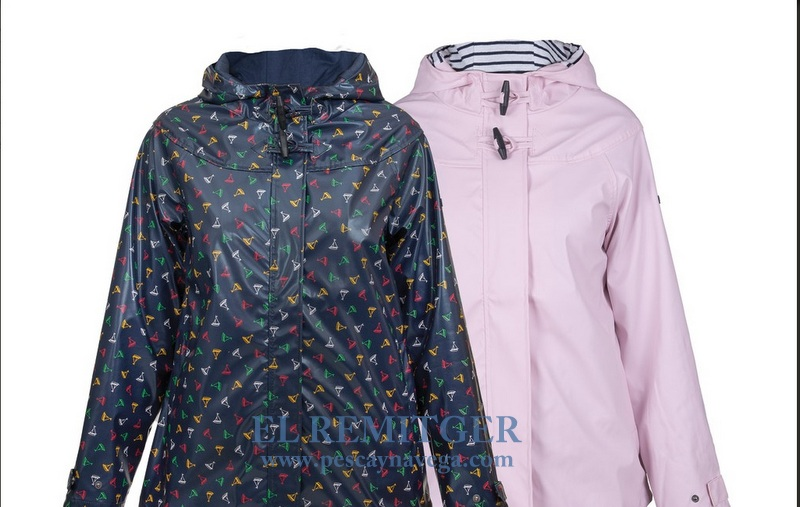 IMPERMEABLE MUJER LISO O BARQUITOS